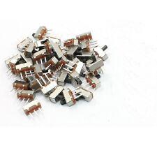 20 Pcs SS12D00G3 2 Position SPDT 1P2T 3 Pin PCB Panel Mini Vertical Slide Switch