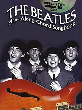 THE BEATLES FOR GUITAR Chord Sheet Music Book & 2 x Playalong CDs Backing Tracks
