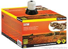 Reptile One R1-46545 Heat Lamp Holder Ceramic to 50W E27 Screw Fitting Reptiles