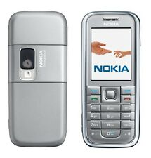 Phone Nokia 6233 Silver Allloy Keyboard Handy Without Simlock (B-Ware)