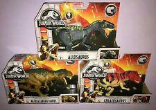 Jurassic World Metriacanthosaurus + Allosaurus & Ceratosaurus *New*