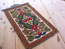 NEW PERFECTLY STITCHED NORWEGIAN TAPESTRY WITH HAMMERED HANGER   FABULOUS