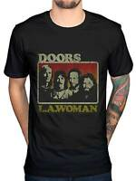 Official The Doors LA Woman NEW Unisex Graphic T-Shirt Band Merch Rock American