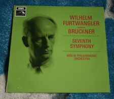 BRUCKNER / FURTWANGLER SEVENTH SYMPHONY UK LP HMV HQM 1169