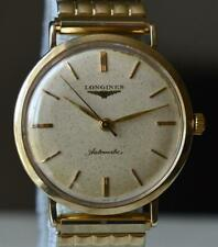 1960s LONGINES Vintage MEN WRISTWATCH Cal. 19AS Automatic Wind 10K GF SERVICED