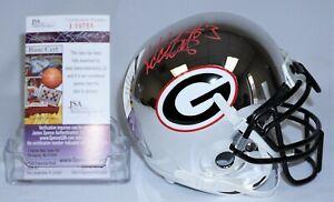 Todd Gurley Signed Autographed Georgia Bulldogs Mini Helmet JSA J19751 Lmt Ed