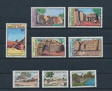 LL87372 Haute Volta traditional houses views fine lot MNH