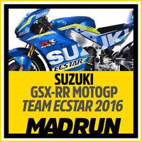Kit Adesivi Suzuki GSX-RR Team Ecstar MotoGP 2016 - High Quality Decals