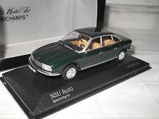 NSU Ro80 vert green spanischgrün 1967 1977 - Minichamps 1:43