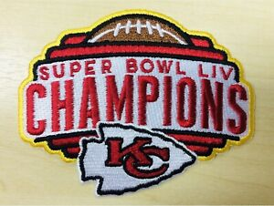 Kansas City Chiefs Super Bowl LIV Champions Patch Embroidered Pat Mahomes SB 54