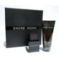 Encre Noire Lalique parfums Paris EDT 50ml + Shower Gel 100ml Confezione Regalo