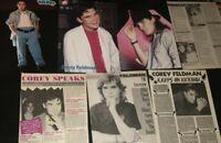 Corey Feldman Pin-Up CLIPPINGS Articles