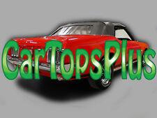 1969-1970 Ford Mustang Convertible Top & Plastic Window, in Black Vinyl