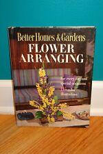 1957 Vintage Better Homes & Gardens Flower Arranging Hardcover Book Illustrated