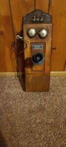 Antique Julius Andrae and Sons Milwaukee Wisconsin Telephone Crank