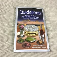 Guidelines to Pesach Jewish Book Passover Laws Torah Customs Judaism