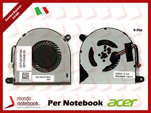 Ventola Fan CPU ACER Spin SP513-51 23.GK4N1.001 023.1007F.0001 (4 Pin)