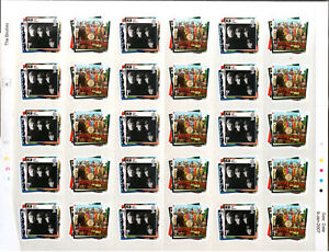 The Beatles U K Stamp Collection January 2007 30 1st class 70p perfect sheet