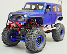 RC Scale Truck Body Shell 1/10 JEEP WRANGLER RUBICON Hard Body V2 + INTERIOR