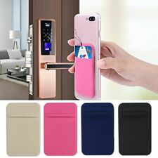 Card Holder Removable Universal Case Slim Pocket Credit Mini Pouch Wallet Phone
