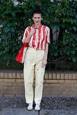 Eldamo VEB Bekleidungswerk Zwickau Damen Hose pants gelb 80er True VINTAGE 80s