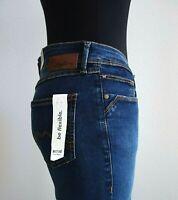 40% Rabatt Mustang Damen Jeans JASMIN Slim Color 5000-881 blue Länge L30
