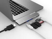 Wavlink Aluminium Thunderbolt3 USBC Hub Adapter e Macbook Pro 2018/2019 13 '' e