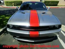 ANY Dodge CHALLENGER Rally Red Racing Stripe Decal 3M Graphic Ralley 20 FEET