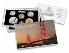 2018-S Silver Reverse Proof 10 coin Set w/CoA & Original Packaging from US Mint