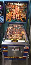 Jungle Lord Pinball Machine by Williams coin Op Arcade 1981