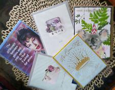 Premium Papyrus Greeting Cards *** Birthday, etc. Lot of 5 *** Brand New! Sealed