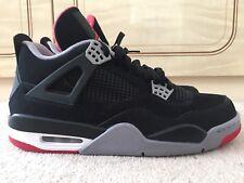 Nike Air Jordan 4 Bred 2012 Retro UK 9 US 10 Off White Levi