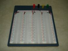 Solderless Breadboard with Metal Backplate, 3220 Tie Points, 4 Binding Posts