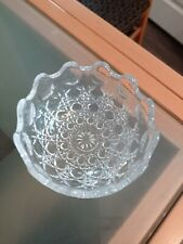 Small Glass Bowl Ideal For Xmas Treats