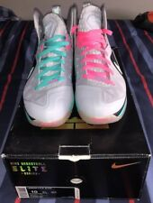 Lebron James Nike Elite 9 South Beach Edition Size 10 Brand New Dead Stock W/Box