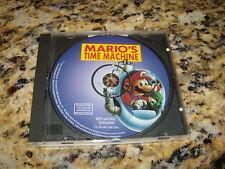 Mario's Time Machine (MPC and Mac 1993) Near Mint