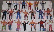 WWF LJN HUGE collection of 40 different figures Vintage 80's