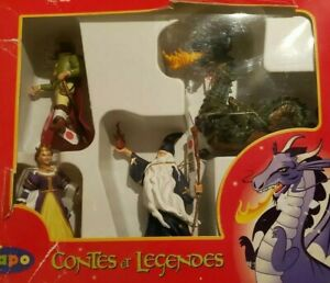 Papo Tales & Legends 4 Figure Set, Hand-Painted Figurines New in Box