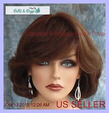 PREMIUM HUMAN HAIR LAYERED BOB STYLE WIG CLR FS4.30 CUTE CLASSY USA SELLER 114A
