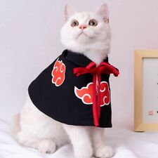 Pet Cat Cloak Costume Anime Halloween Cosplay Party Cape Dressing Up Apparel