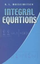 INTEGRAL EQUATIONS [9780486441627] - B. L. MOISEIWITSCH (PAPERBACK) NEW