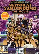 Seitokai Yakuindomo Movie DVD - Japanese Anime - US Seller Ship FAST