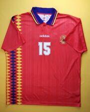 Spain vintage retro jersey replica size 2XL CE2340 Adidas soccer ig93