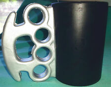 New BRASS KNUCKLES Insulated Foam BEER CAN DRINK KOOZIE-COOZIE/HOLDER