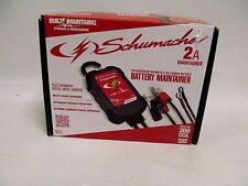 Schumacher 2-AMP Battery Charger Maintainer Snowmobile ATV Motorcycle 7639-834