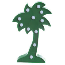 NOVELTY FUNKY PALM TREE SHAPED LED LIGHT NIGHT LAMP NEW IN GIFT BOX