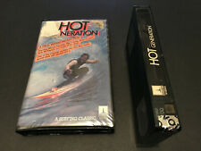 HOT GENERATION AUSTRALIAN VHS PAL VIDEO SURFING PAL FORMAT PAUL WITZIG NAT YOUNG