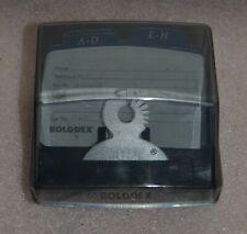 Rolodex Mini Covered Business Cardaddress Card Holder Model R 030