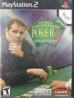 World Championship Poker 2 Featuring Howard Lederer (Sony PlayStation 2, PS2)