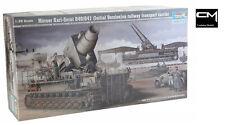 Trumpeter 00208 1:35 Morser Karl-Gerat 040/041 (Early) On Rail Transport Carrier